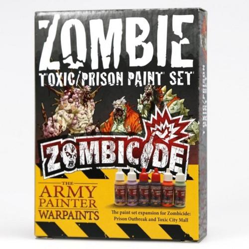 Paint Set Zombicide: Toxic/Prison