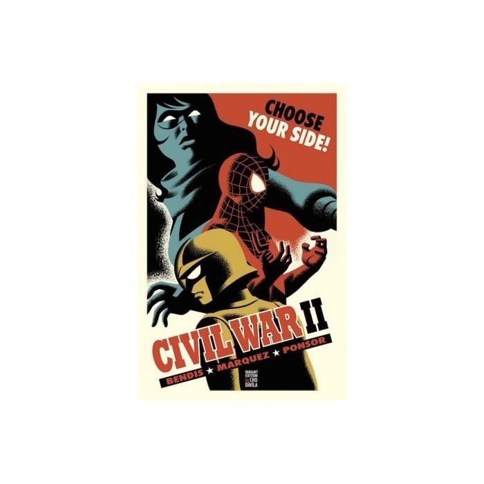CIVIL WAR II 05 (PORTADA ALTERNATIVA)